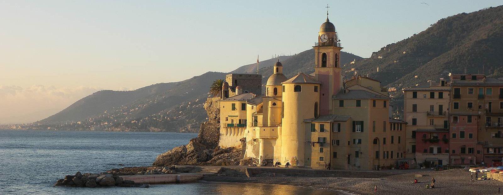 Camogli-church-Liguria-beach1