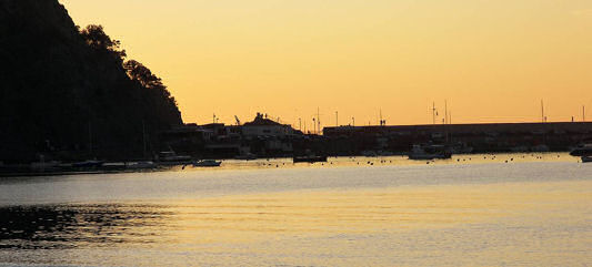 Sestri-Levante-sunset-bay1