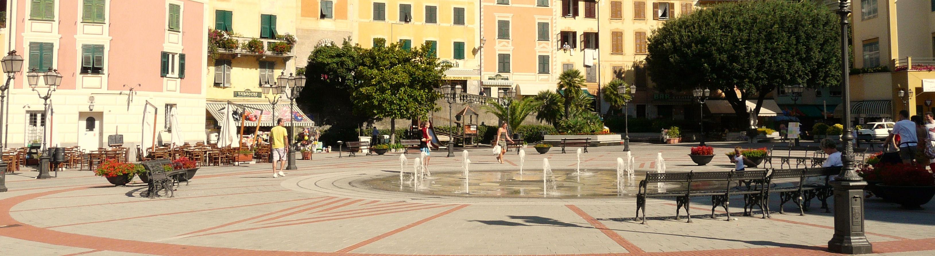 Zoagli-piazza